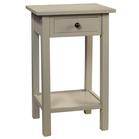 Griffin Side Table, Glacier Gray