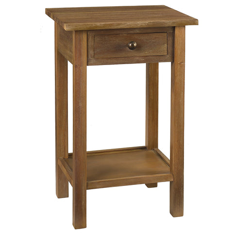Griffin Side Table, Gray Wash
