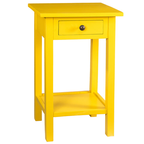 Griffin Side Table, Mustard