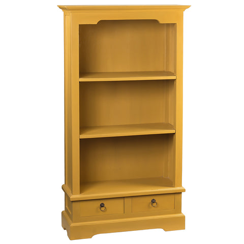 "Charlotte Bookcase 55"", Sunset Gold"