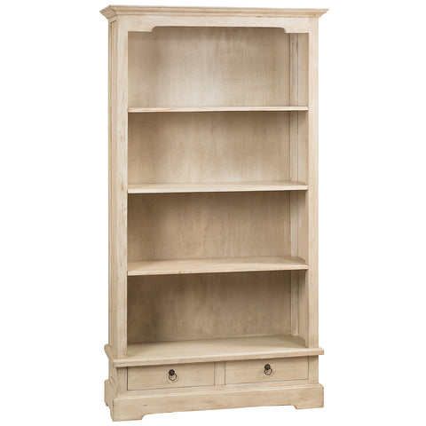 "Charlotte Bookcase 71"", Whitewash"
