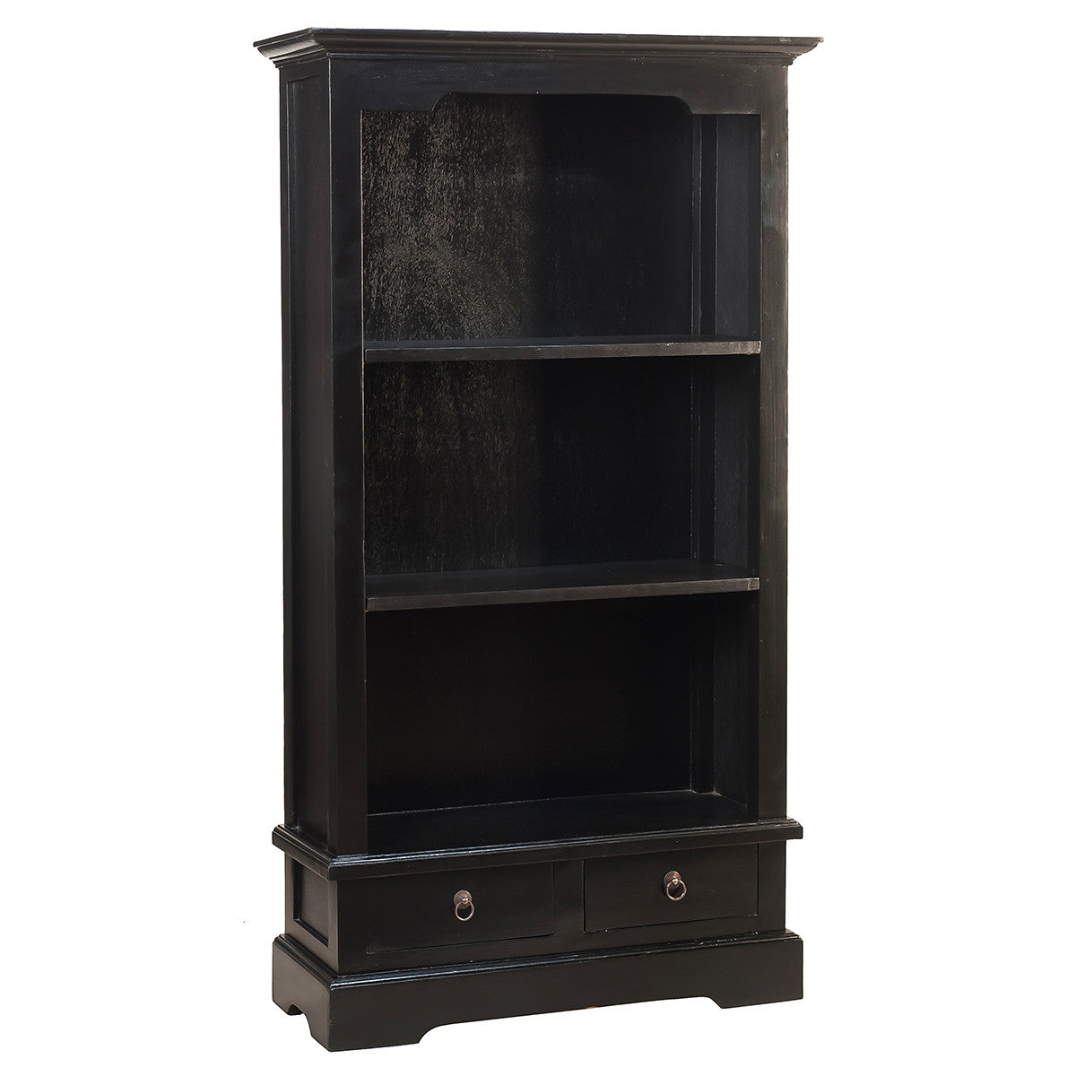 Charlotte Bookcase 55 Black Wrightwood Furniture