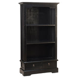 "Charlotte Bookcase 55"", Black"