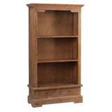 "Charlotte Bookcase 55"", Gray Wash"