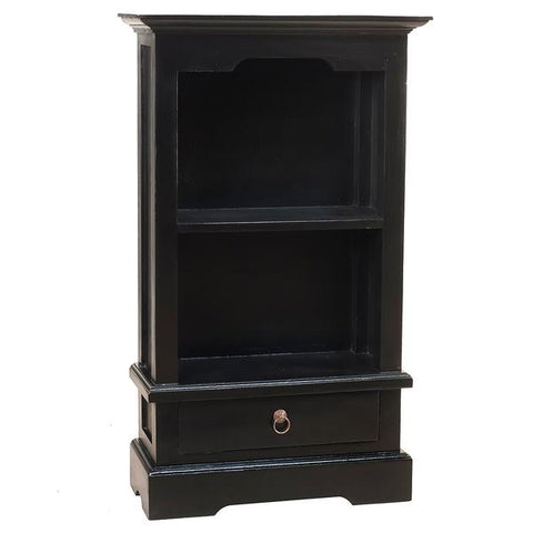 "Charlotte Bookcase 39"", Black"