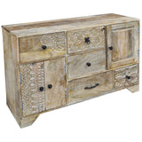 Ceran Wooden Sideboard, Natural