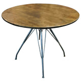 Bailey Iron and Wood Dining Table