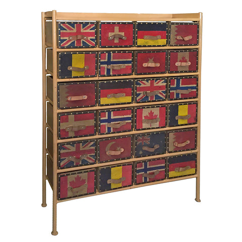 Flag Iron Chest