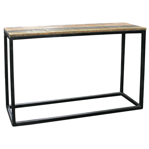 Darma Recycled Wood Console Table, Large