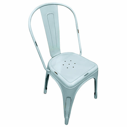 Iron Chair, Sky Blue