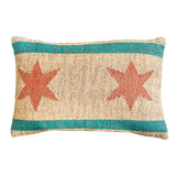 Chicago Flag Lumbar Pillow
