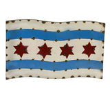 Chicago Flag Wall Art, 22.5""