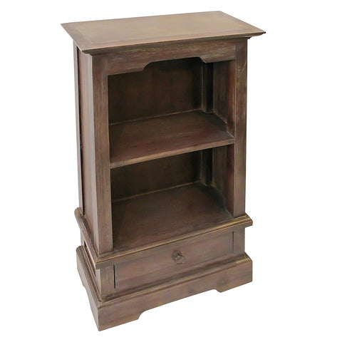 "Charlotte Bookcase 39"", Dark Gray Wash"