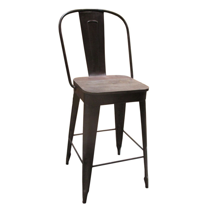 Stupendous Frenchy Counter Stool 25 Seat Rustic Pdpeps Interior Chair Design Pdpepsorg