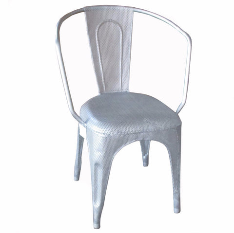 Xeno Iron Mesh Chair with Arms