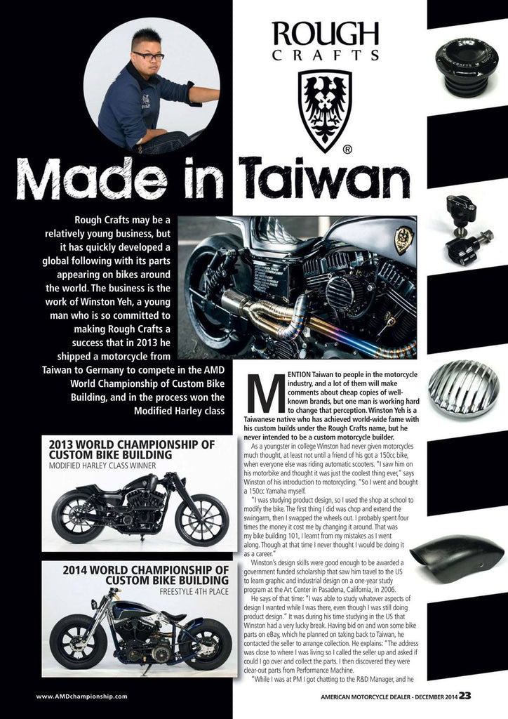 The Rough Crafts Style in AMD mag - Dec 2014, #185!!