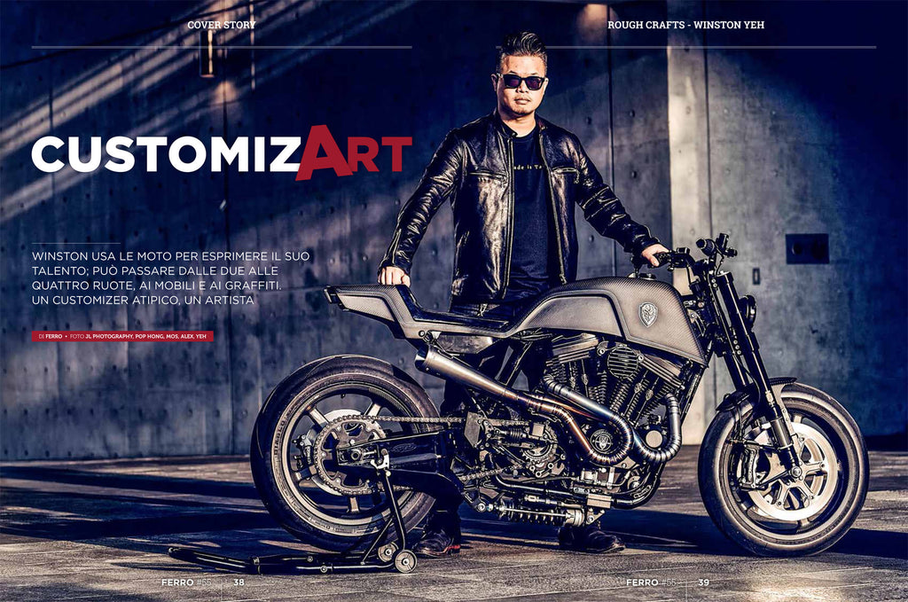Rough Crafts on Italian Ferro magazine #55