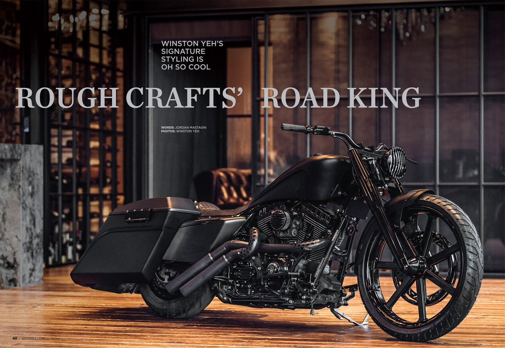 Noir King on HOT BIKE mag USA Issue.2 2018!
