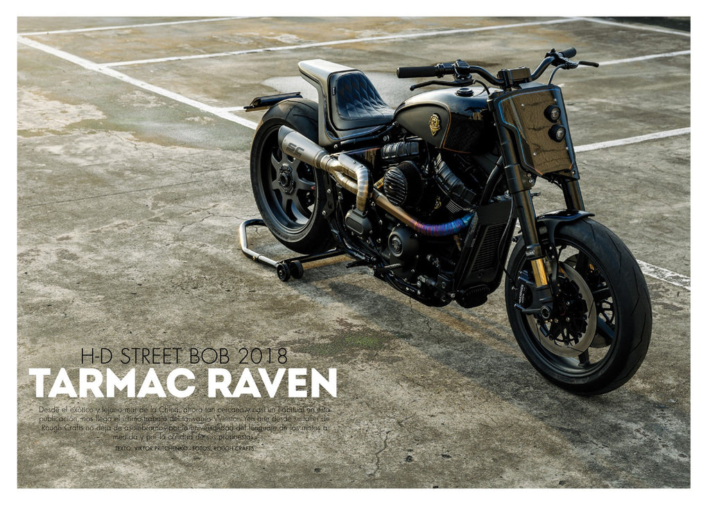 TARMAC RAVEN on Spanish BIKERZONE magazine no.313!!