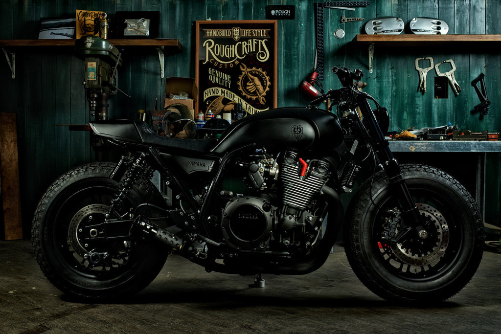 YAMAHA YARD BUILT PROJECT: GUERILLA FOUR XJR1300 BUILD (2015)