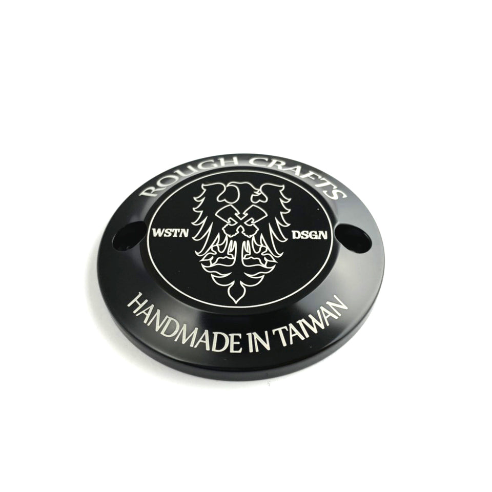 ROUGH CRAFTS Milwaukee Eight Point Cover (Anodized Black)