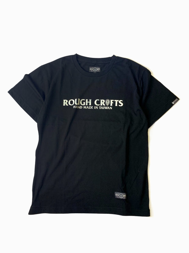 ROUGH CRAFTS ROUND LOGO - Short sleeve T-Shirt