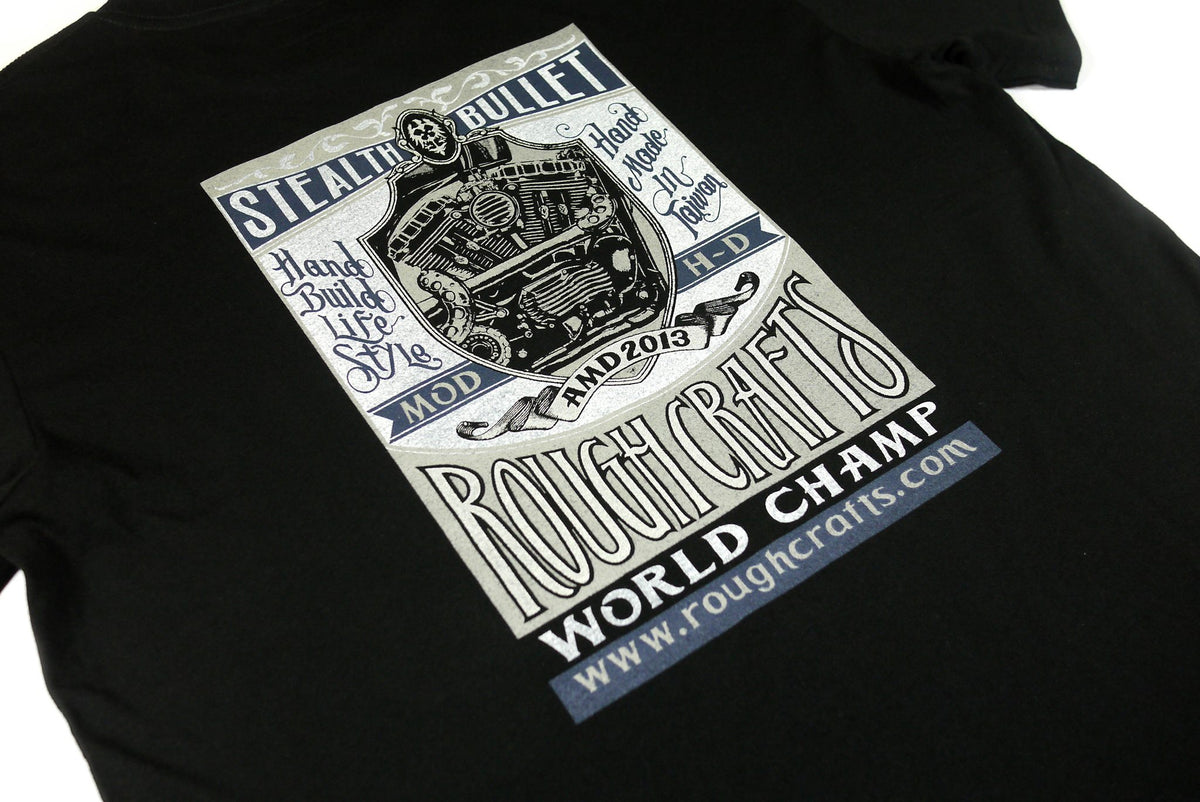 ROUGH CRAFTS WORLD CHAMPION -Short sleeve T-shirt