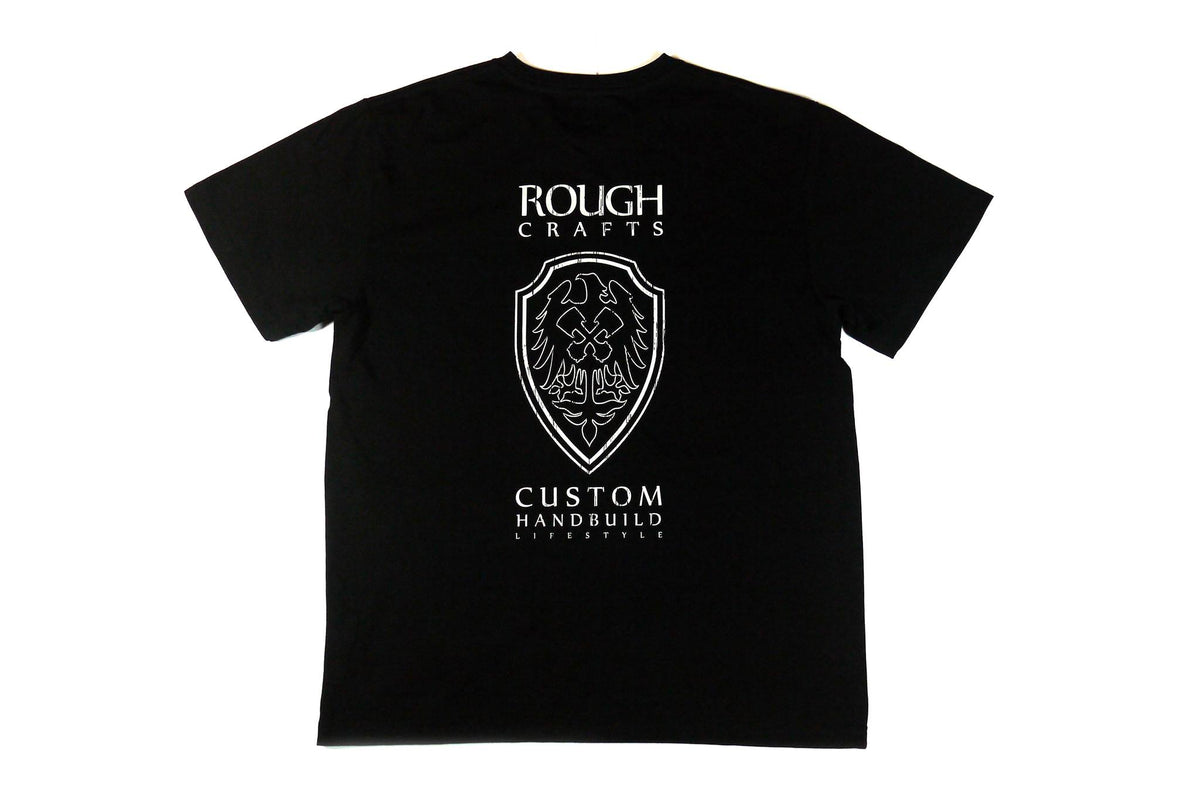 ROUGH CRAFTS EXCLUSIVE [Hand Made] In Taiwan -Short sleeve T-shirt