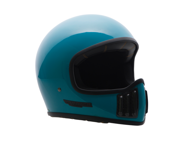 ROUGH CRAFTS REVOLATOR HELMET-Solid-Turquoise