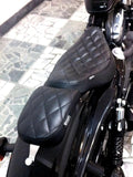 Diamond Stitched Solo Seat - XL / Sportsters