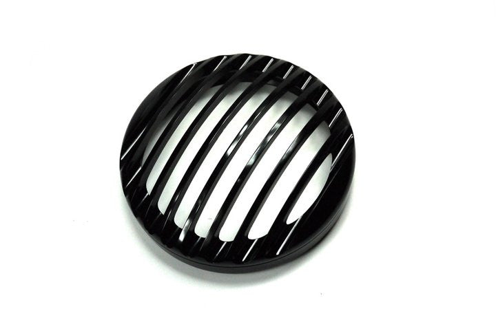 ROUGH CRAFTS Grill for Stock Headlight (Black Anodized)