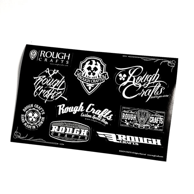 ROUGH CRAFTS Sticker Pack