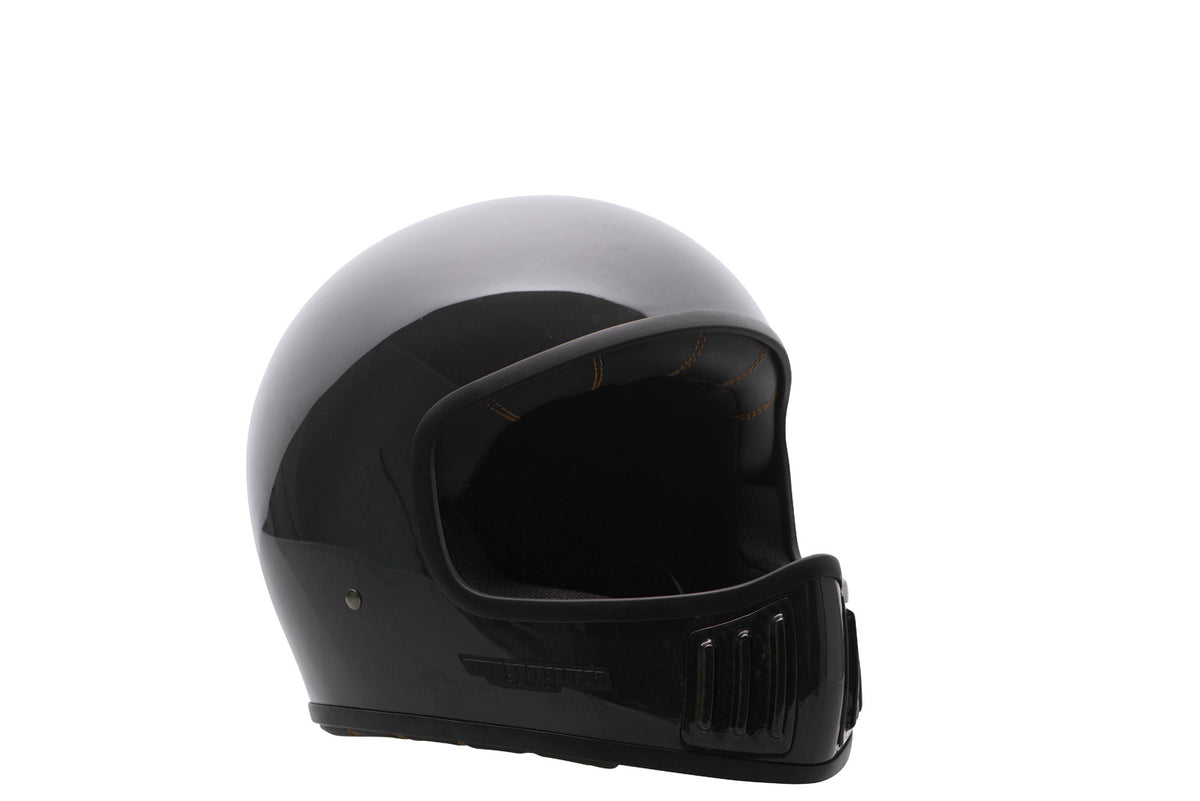 ROUGH CRAFTS REVOLATOR HELMET-Solid-Noir