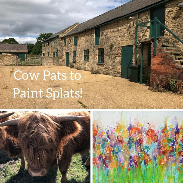 Cow Pats to Paint Splats