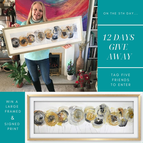 5th day of christmas give away