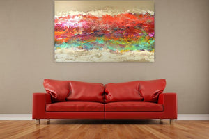 Red Sea - Original Abstract Wall Art