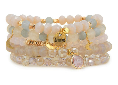 "Erimish ""Colada"" Stretch Bracelets - Assorted Colors"