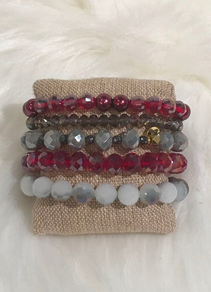 "Erimish ""Fantasy"" Stretch Bracelets - Assorted Colors"