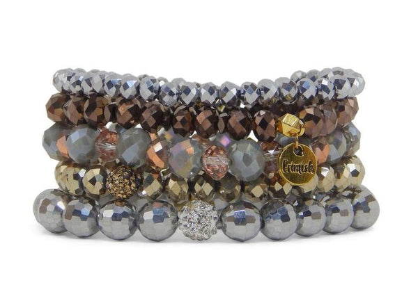 "Erimish ""Gatsby"" Stretch Bracelets - Assorted Colors"