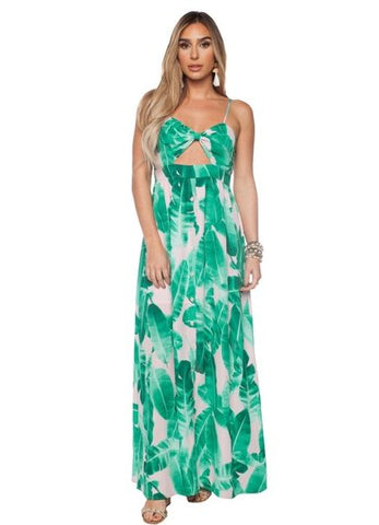 3d34f5bf7a5c  Kendall  Maxi Dress in Palm Springs Print by Buddy Love.