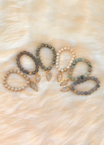 Arrowhead Beaded Bracelets by Bijoux By Bonnet