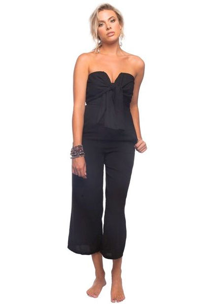 'Erin' Jumpsuit in Black by Buddy Love