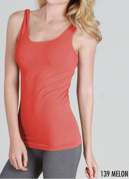 Seamless Tank Camisole - Multiple Colors