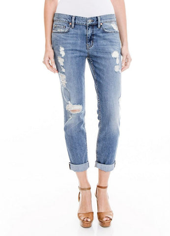 """Sienna"" Distressed Tomboy Jean in Crosby"