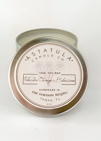 Astatula 4oz. Mini Tin Soy Candle - Assorted Scents