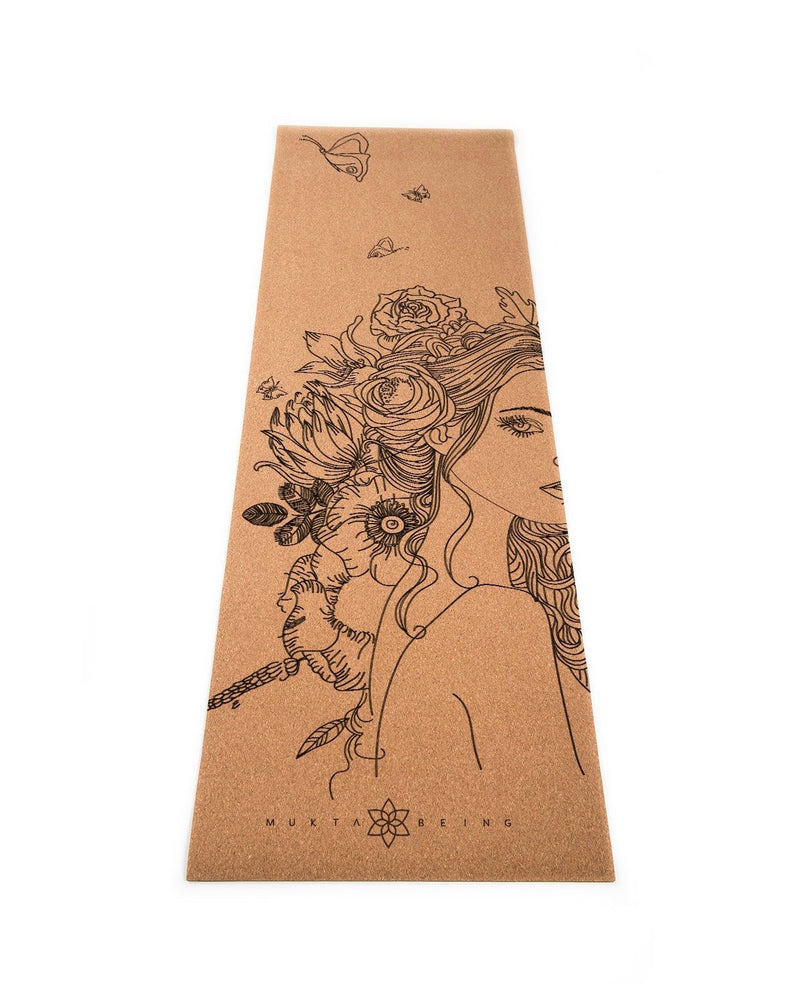 Mukta Being Goddess Cork Mat