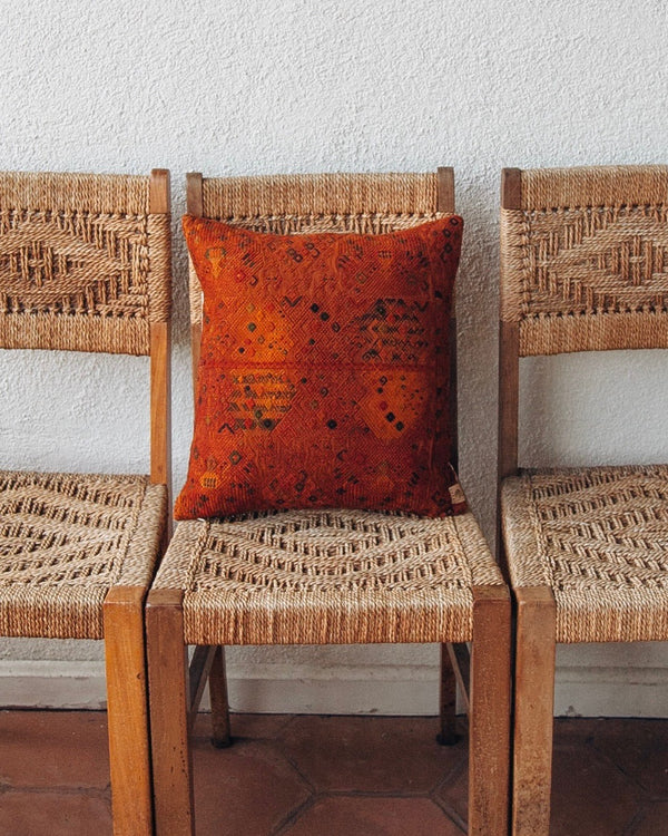 Story of Source Nahuala Cushion - Rust