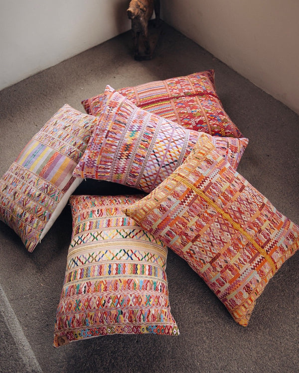 Story of Source Cotzal Cushions - variety of colors