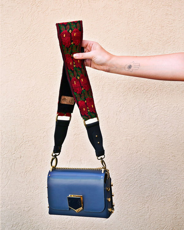 Story of Source Faja Shoulder Strap Floral Vintage