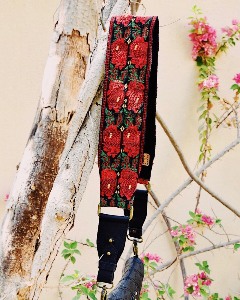 Story of Source faja shoulder strap - Floral Vintage